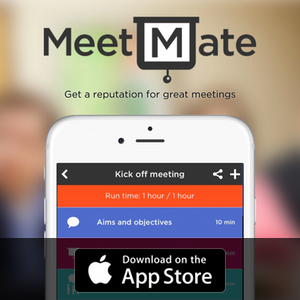 Download MeetMate now on the App Store